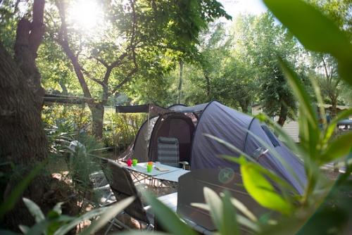 Camping abri-de-camargue